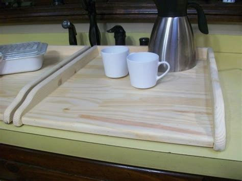 Wood Kitchen Sink Covers For Twin Sink Or Small Stove