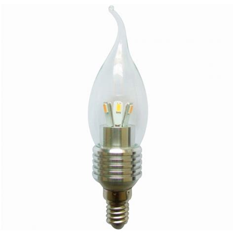 6 pack led candle bulb dimmable 5 watt e14 base for