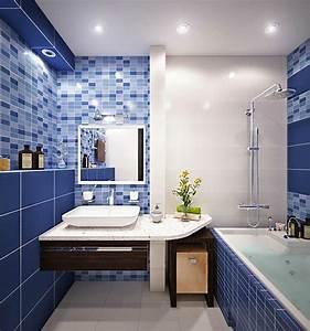 Petite Salle De Bain Design : am nagement d une petite salle de bain 3 plans astucieux ~ Dailycaller-alerts.com Idées de Décoration