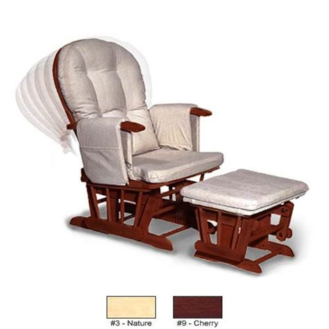 recliner gliders and ottomans for nursery glider adjustable recliner glider with ottoman natural