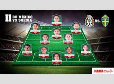 Mundial 2018 Alineación de México vs Suecia Osorio