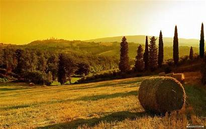 Tuscany Wallpapers Italy Tuscan Sunset Countryside Toscana