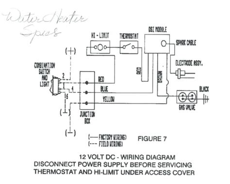 Rv 10 Wiring Diagram by Wiring Diagram For Electric Water Heater