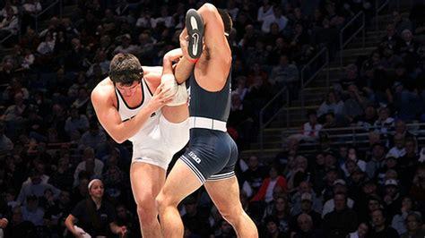 wrestling wreport penn state destroys indiana