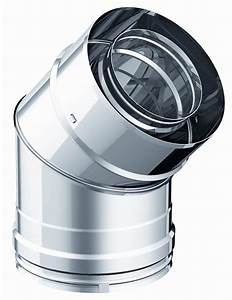 Tubage Inox Double Paroi 150 : coude 90 coude 135 double paroi diam tre 150mm ~ Premium-room.com Idées de Décoration
