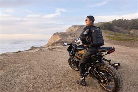 motochic convertable backpack purse moto lady