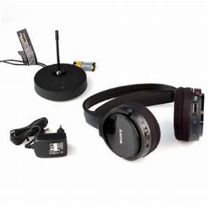 Casque Audio Sony Sans Fil Casque Tv Sans Fil Sony Mdr Rf865rk