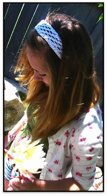 Lacy Leia Headband Monica Leigh Knotty Knits