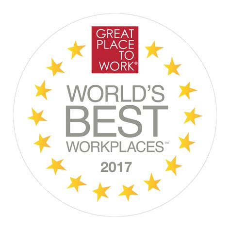 The Best Place To Work by World S Best Workplaces 2017 Great Place To Work United