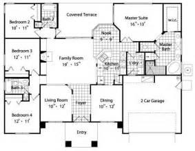 4 bedroom 4 bath house plans sunbelt house plans