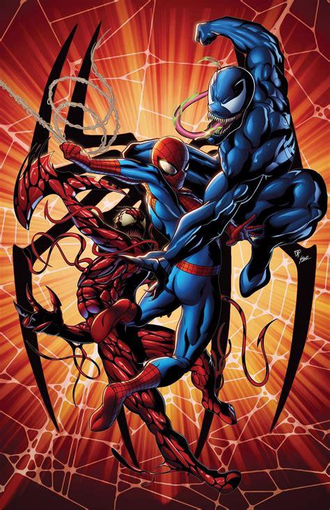 Carnage can grow even stronger by feeding off negative emotions around him. Spider-man Vs. Venom & Carnage   Carnage marvel, Marvel ...