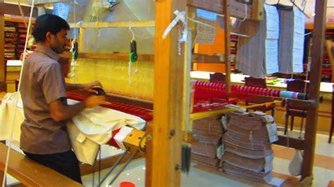 kanchipuram handloom silk saree weaving process youtube