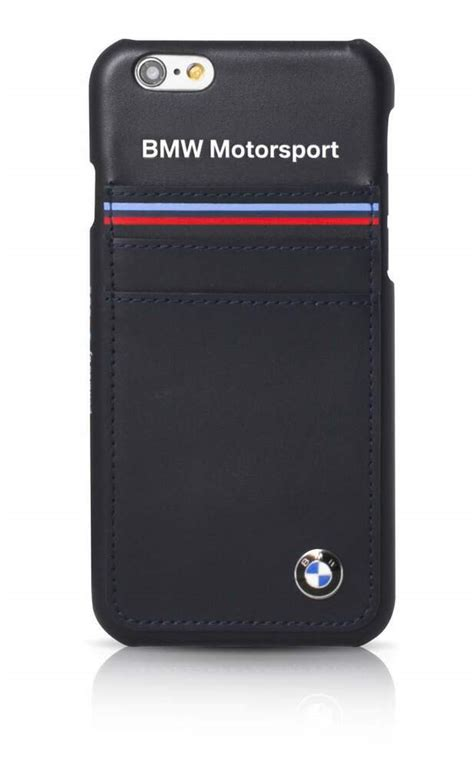 Bmw Motorsport Tricolor Horizontal Hard Case For Iphone