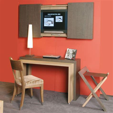 bureau meuble tv bureau et meuble tv russy pour hôtel collinet