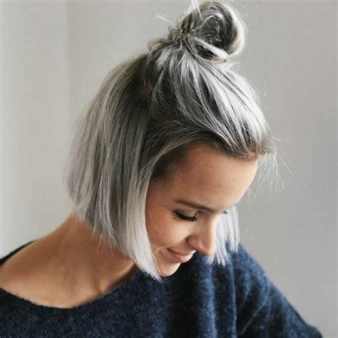 silber blond haare der neue trend im haarstyling graue haare f 228 rben