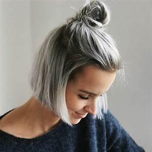 Der Neue Trend Im Haarstyling Graue Haare Frben