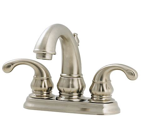 price pfister tub faucet brushed nickel treviso centerset bath faucet f 048 dk00 1