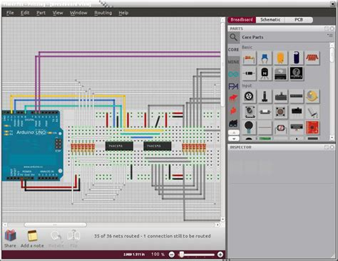 fritzing free tool to create interactive electronics linuxlinks
