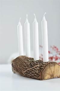 Weihnachtsdeko Selber Machen Holz : do it yourself schlichter adventskranz aus holz bonny und kleid ~ Frokenaadalensverden.com Haus und Dekorationen