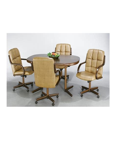 Chromcraft Dining Room Chairs by Chromcraft Dinette Set