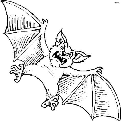 bat coloring pages    print