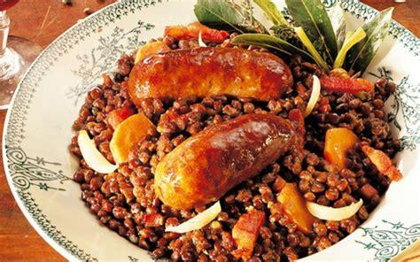 cuisine pour debutant recette saucisses lentilles pas chère et rapide gt cuisine