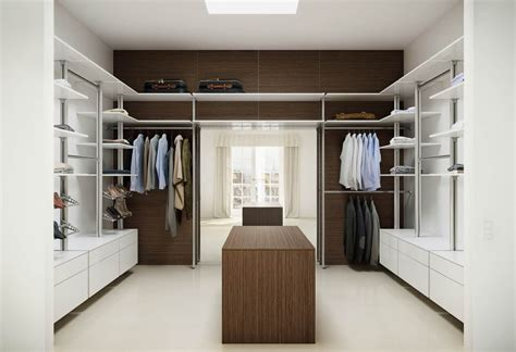 contemporary walk in closet ideas for both and