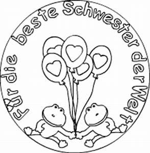 Beste Schwester Der Welt : erlenstra e nordhorn mandalas zum ausdrucken ~ Frokenaadalensverden.com Haus und Dekorationen