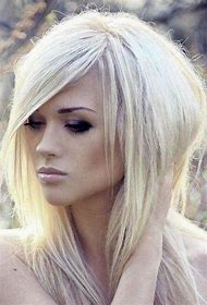 Blonde Long Shag Hairstyles