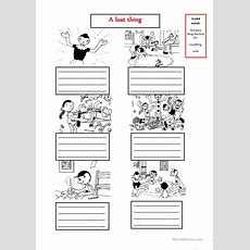 The Lost Thing Make Up A Story Worksheet  Free Esl Printable Worksheets Made By Teachers