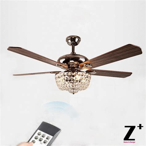 country style ceiling fans american country style led lights fan crystal chandelier