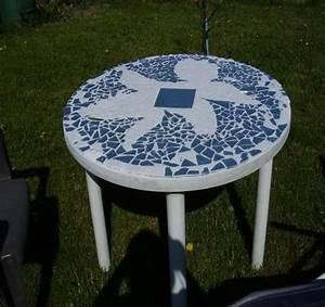 Mosaik Selber Fliesen Auf Altem Tisch : gartentisch mit mosaik mein sch ner garten forum ~ Watch28wear.com Haus und Dekorationen