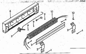 Electric Baseboard Heater Parts Diagram  Electric  Free