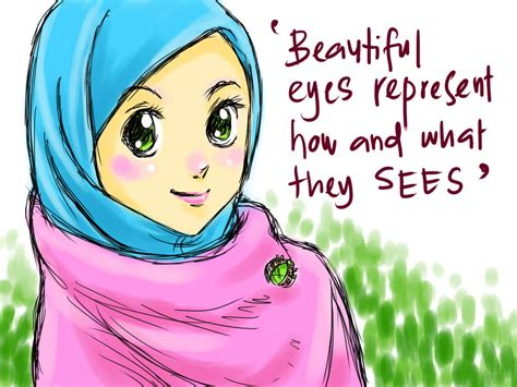 anime wanita yang imut ziyah asbag z anime muslimah yang lucu and imut