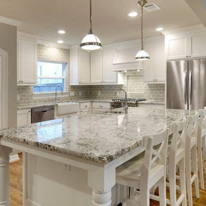 white kitchen cabinets with granite countertops photos white granite countertops and glass subway tile backsplash 2211