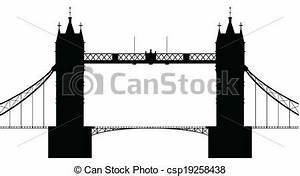 London Bridge Dessin : pont londres pont silhouette sur isol londres fond vecteurs search clip art ~ Dode.kayakingforconservation.com Idées de Décoration