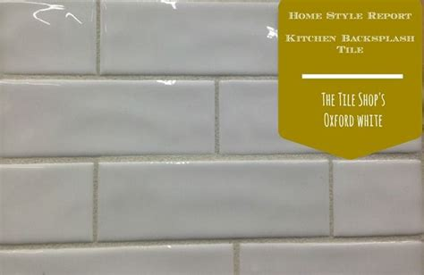 the tile shop oxford white 2x6 subway tile the wavy