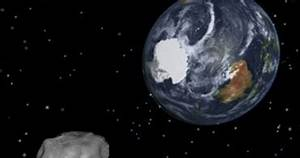 Near-miss: 150-foot-wide Asteroid to dart past Earth