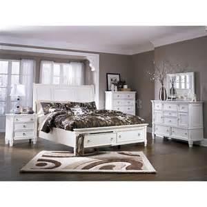 prentice sleigh storage bedroom set millennium furniture