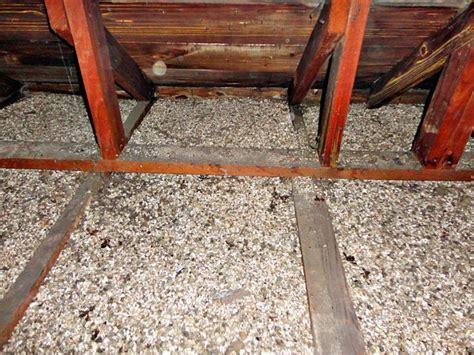 fixing attics  vermiculite insulation