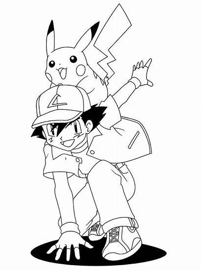 Pokemon Coloring Kleurplaat Pikachu Kleurplaten Ausmalbilder Dibujos