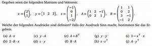 Matrix Rechnung : matrix matrizenrechnung regeln an beispiel mathelounge ~ Themetempest.com Abrechnung