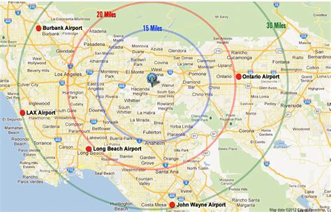 los angeles resorts area map pacific palms resort