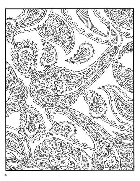 dover paisley designs coloring book zentangle coloring