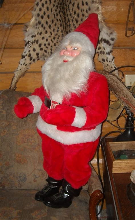 large 7 up store display santa claus collectors weekly