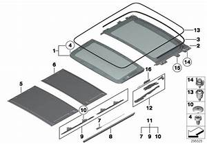 Bmw X1 Sliding Parts - 54102993888