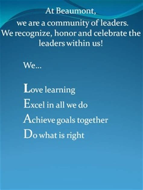 famous quotes mission statement quotesgram