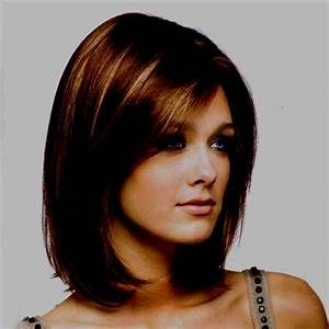 Coupe Carré Visage Rond : coiffure femme 2019 mi long visage rond ~ Melissatoandfro.com Idées de Décoration