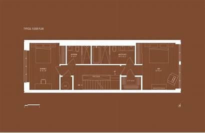 Hook Townhouses Half Plans Floor Plan Curbed