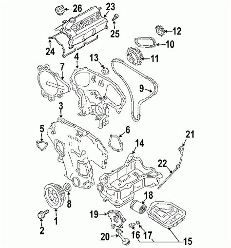 Frontier V6 Engine Diagram by 2005 Nissan Xterra Engine Diagram Automotive Parts